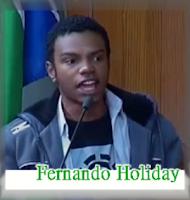 Fernando Holiday atacado por racistas intolerantes