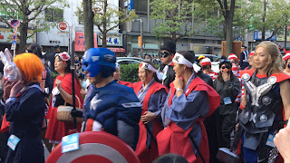 Japanese Costumes and Thor