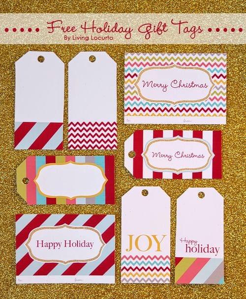 printable christmas gift tags-love-joy-peace
