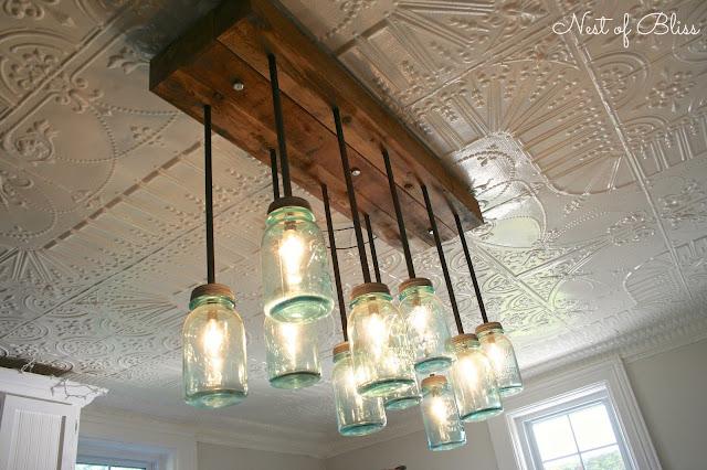 Mason Ball Jar Light - Nest of Bliss