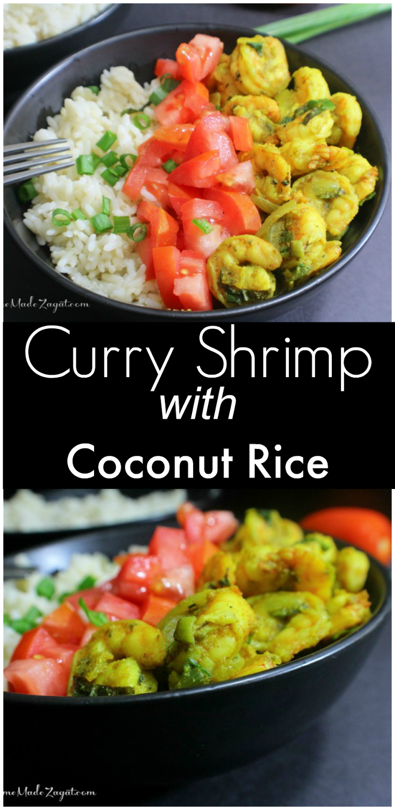 Curry Shrimp with Coconut Rice | Home Made Zagat