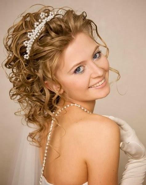 Пышные свадебные прически на средние волосы фото
