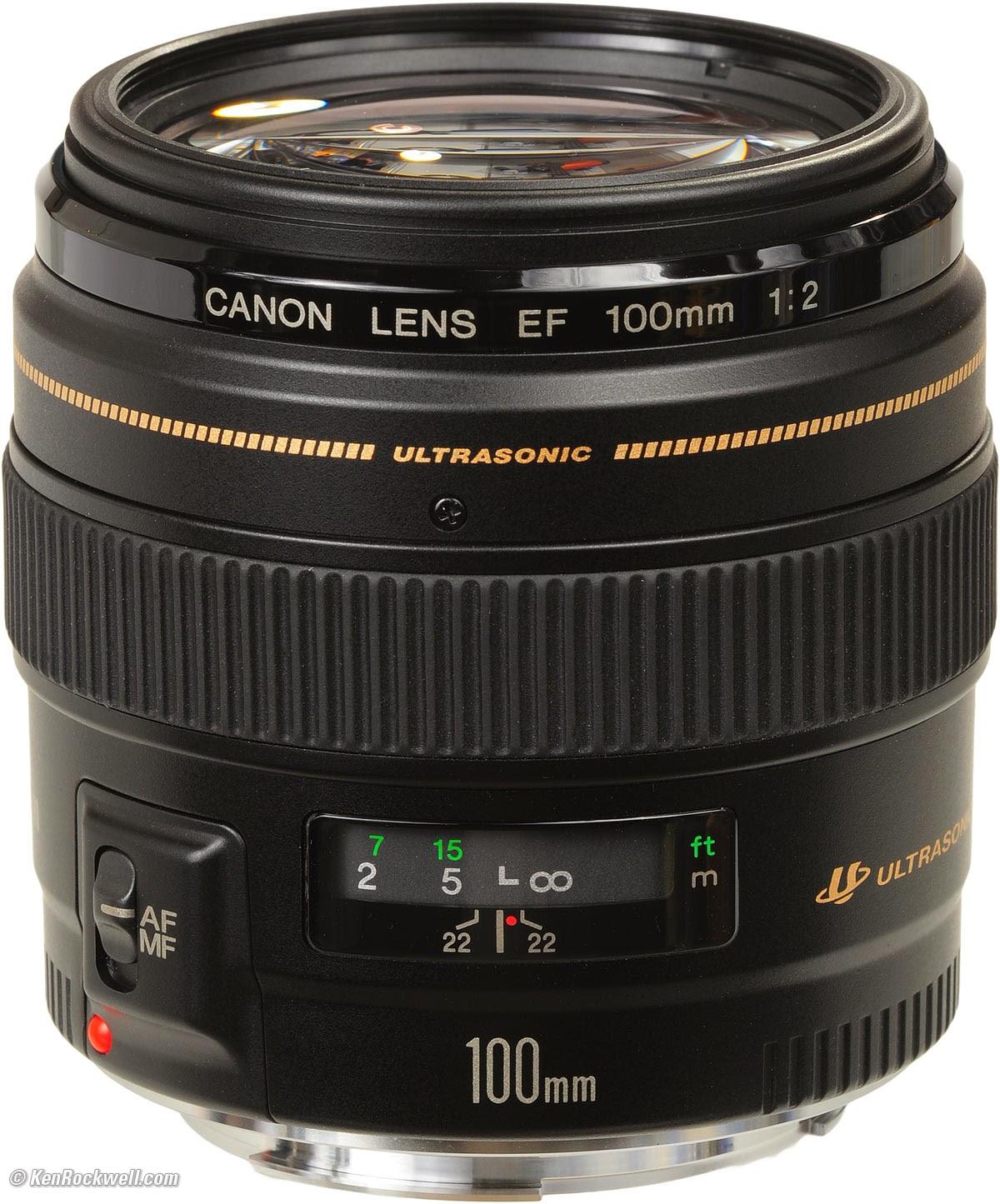 Harga Lensa Canon EF 100mm f/2 USM Terbaru
