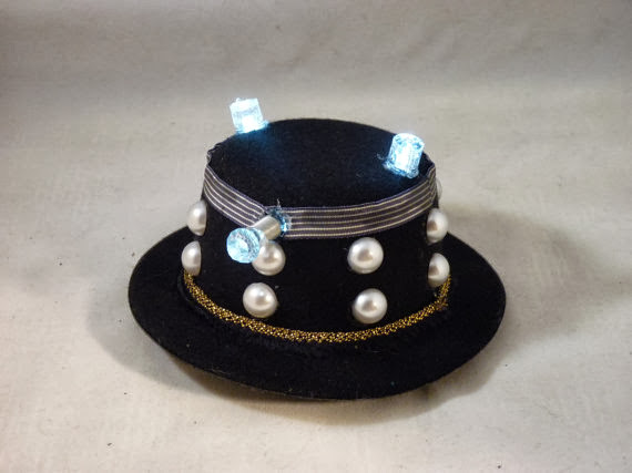 Daleks of the day hats off to the daleks for Cat in the hat jewelry