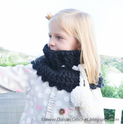 crochet wrap cowl pattern