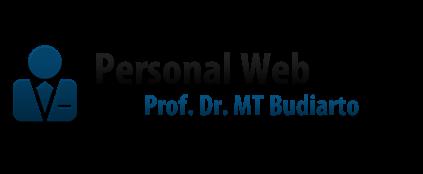 Personal Web Prof. Dr. Mega Teguh Budiarto