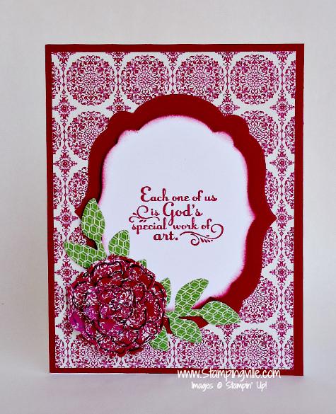 Stampin' Up! Secret Garden Stamp Set + Coordinating Framelit Dies