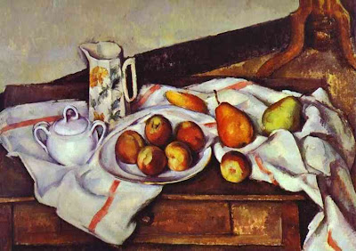 Paul Cézanne - Still Life with Peaches and Pears.