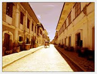 Calle Crisologo of Vigan is one of the most visited tourist destination in Nothern Luzon, it features historical building architectural design