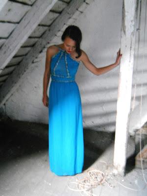 długa suknia, maxi dress