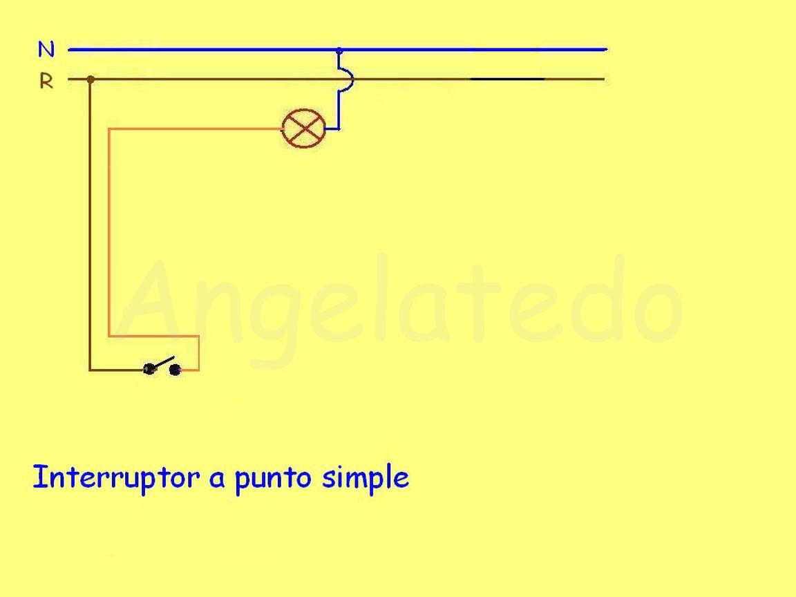 Circuito Sencillo : Interruptores y conmutadores esquemas electricos ~ angelatedo
