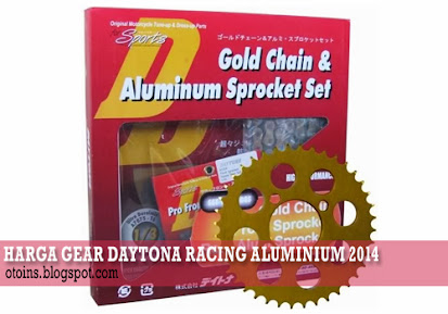 Rincian Harga Gear Motor Daytona Racing Aluminum Terbaru 2015
