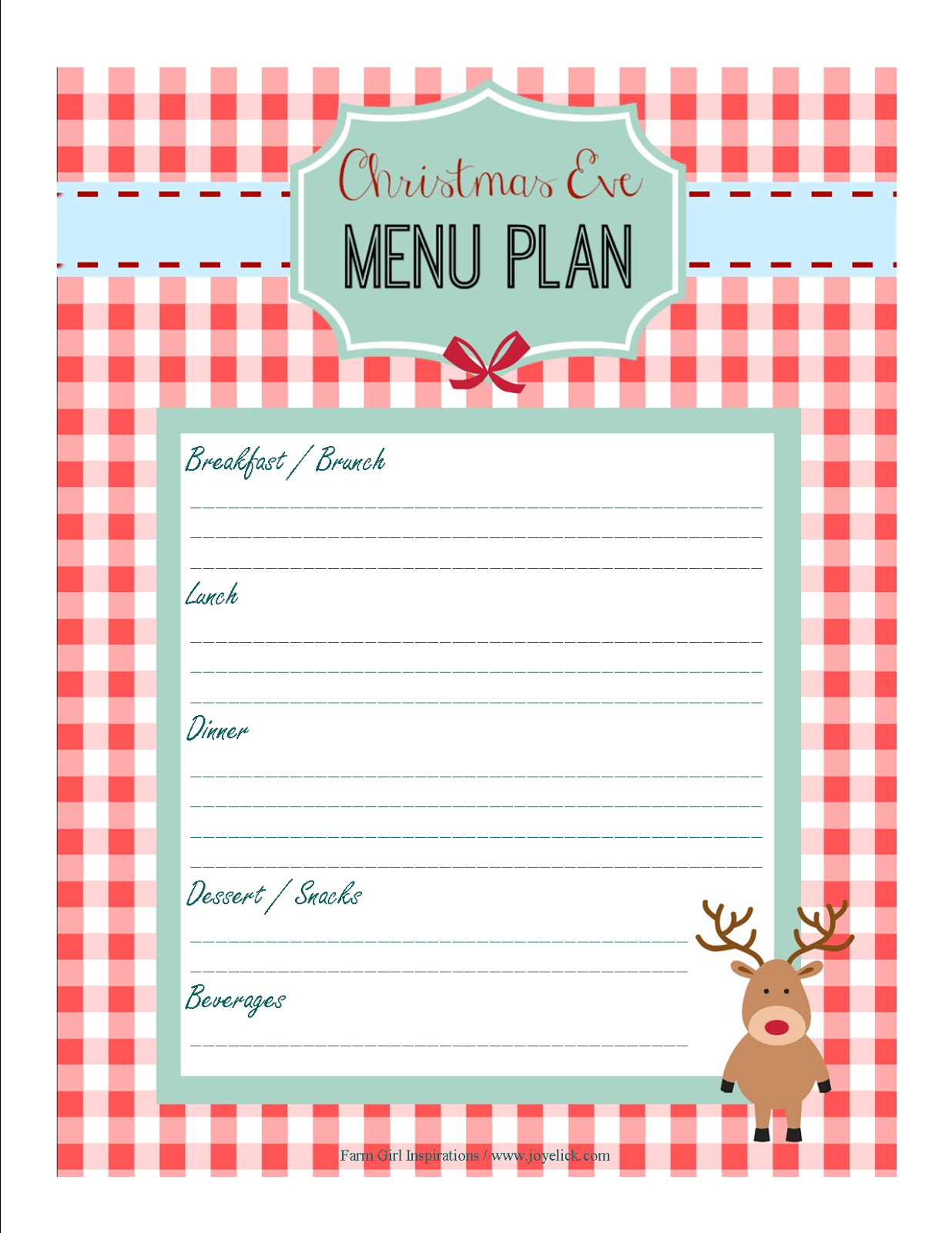 Eloquent image in christmas planner printable