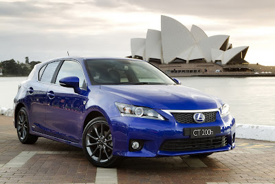 2011 Lexus CT 200h Wallpaper