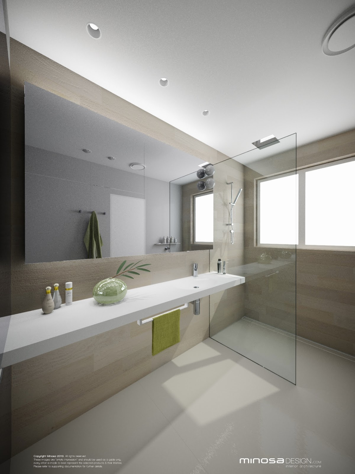 Minosa bringing sexy back the modern bathroom for Contemporary ensuite bathroom design ideas
