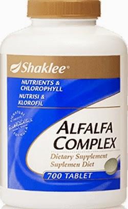 alfalfa shaklee