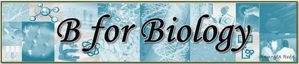 B for Biology