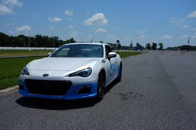 Subaru BRZ Autocross Racing