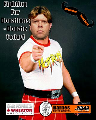 Donate To Byron Today!