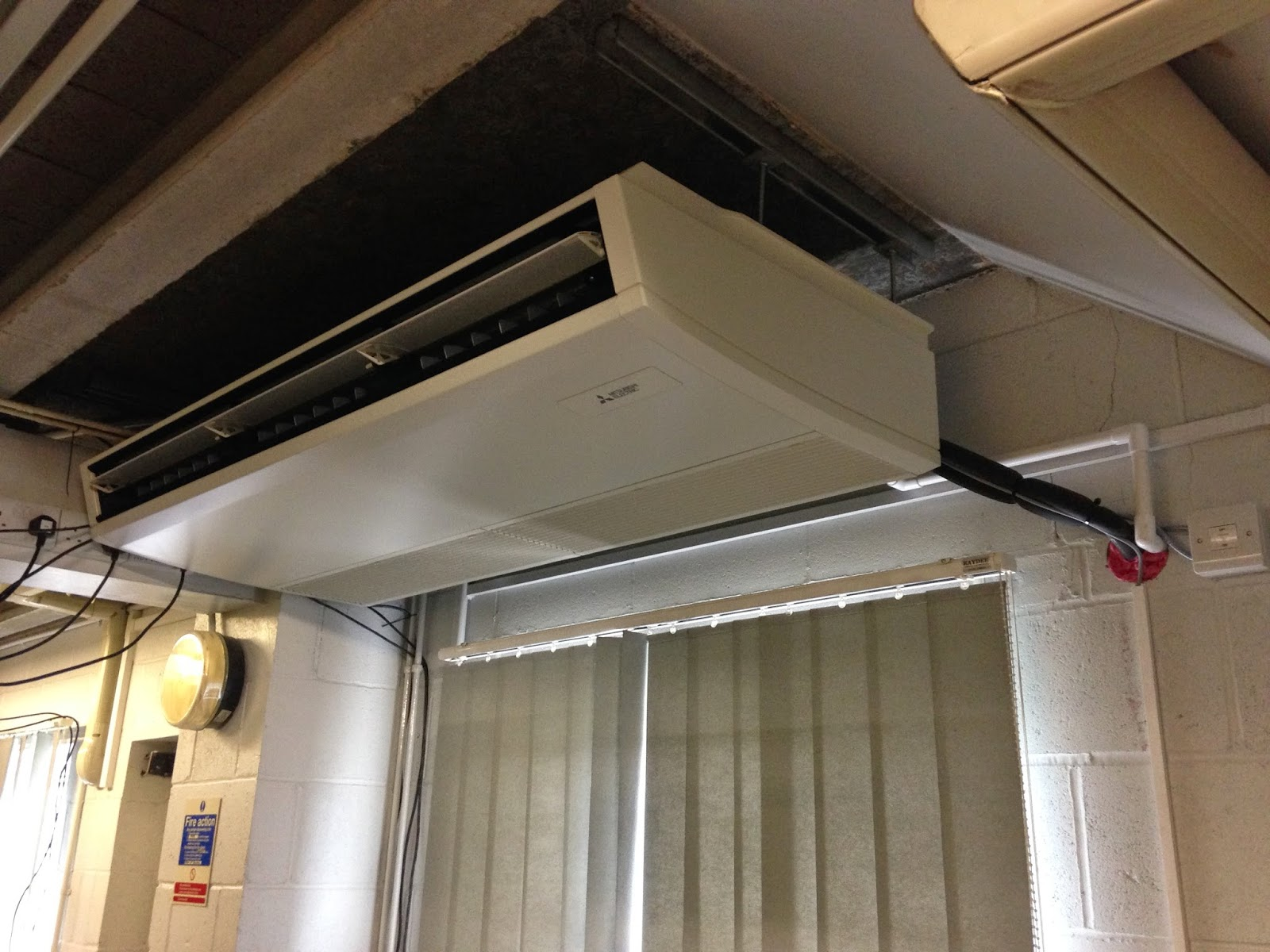what ac mitsubishi ductless split air in products systems conditioning marines is electric memorial san wall francisco