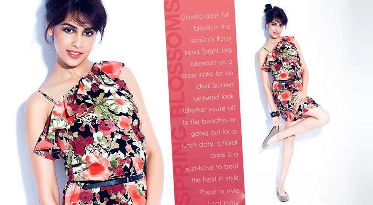 Gossip4u Genelia D 39 Souza Trendy Look For Myntra Star N