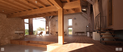 ghost furniture workshop in southern france