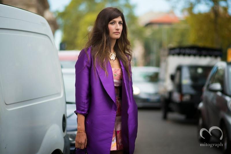 mitograph Valentina Siragusa Before Gucci Milan Fashion Week 2014 Spring Summer MFW Street Style Shimpei Mito