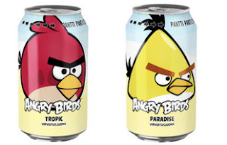 Rovio Introduces Angry Birds Drink