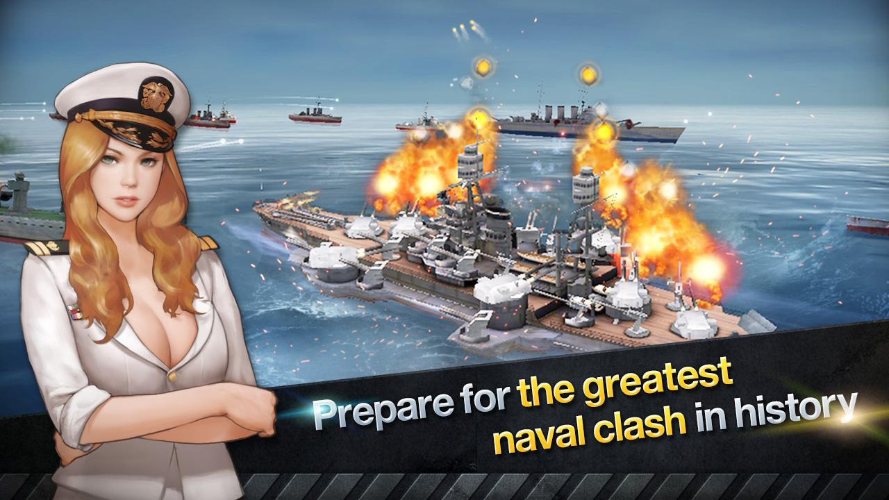 WARSHIP BATTLE:3D World War II Gameplay Android