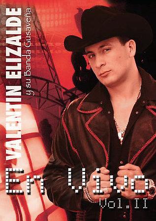 Valentin Elizalde - En Vivo Vol. 2 (Disco / Album Oficial 2005)
