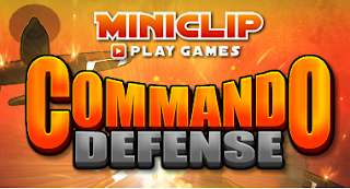 Commando Defense Miniclip Game