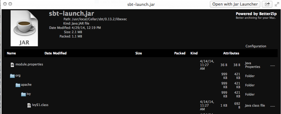 How to View File Inside Jar Archive - Mac | Hanxue and IT