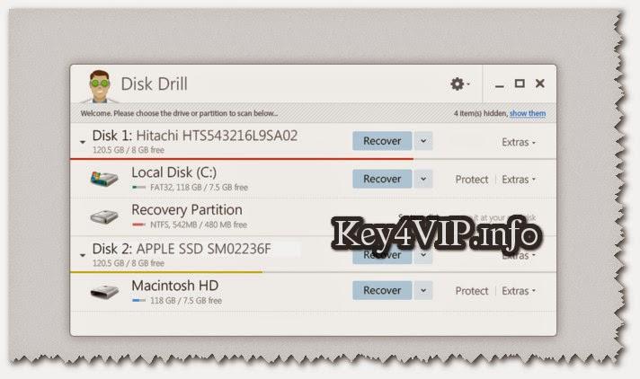 Disk Drill - 1.0.0.186 Pro Full Key,Phần mềm phục hồi file dữ liệu