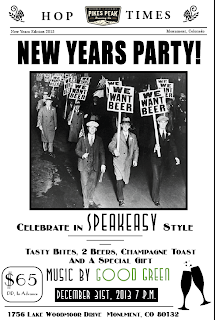 Pikes Peak Brewing New Years Party