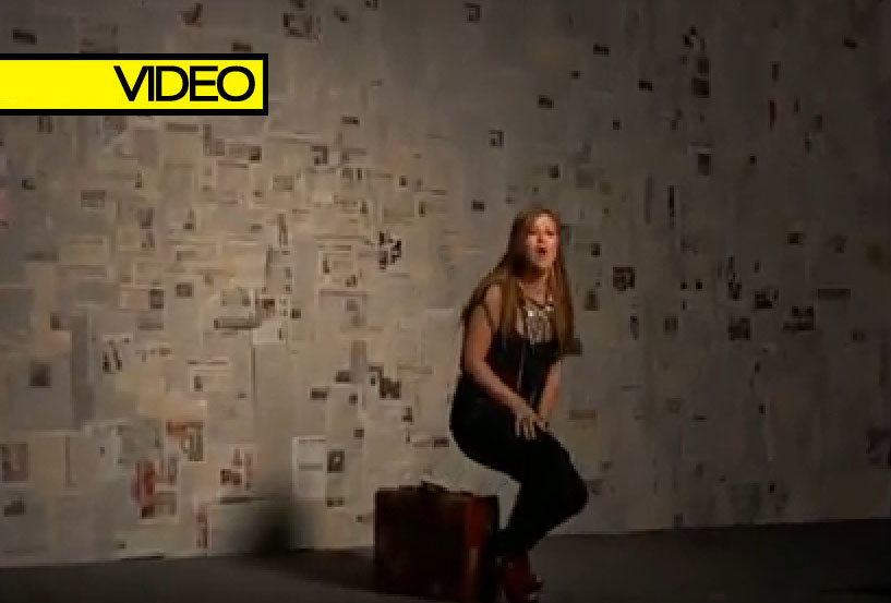 "Behind The Scenes Of Kelly Clarkson's New Video ""Mr. Know It All"""