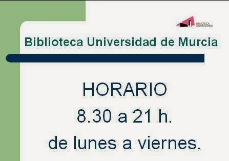 horario Biblioteca Universitaria - BUMU.