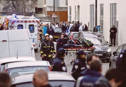Pejabat Akhbar Paris Hina Nabi Diserang
