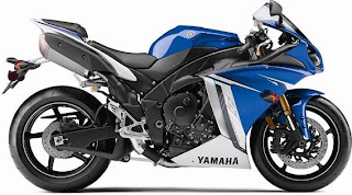 2011 Yamaha YZF-R1 blue color