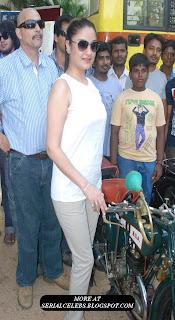 Sonia Agarwal at Heritage Car Rally