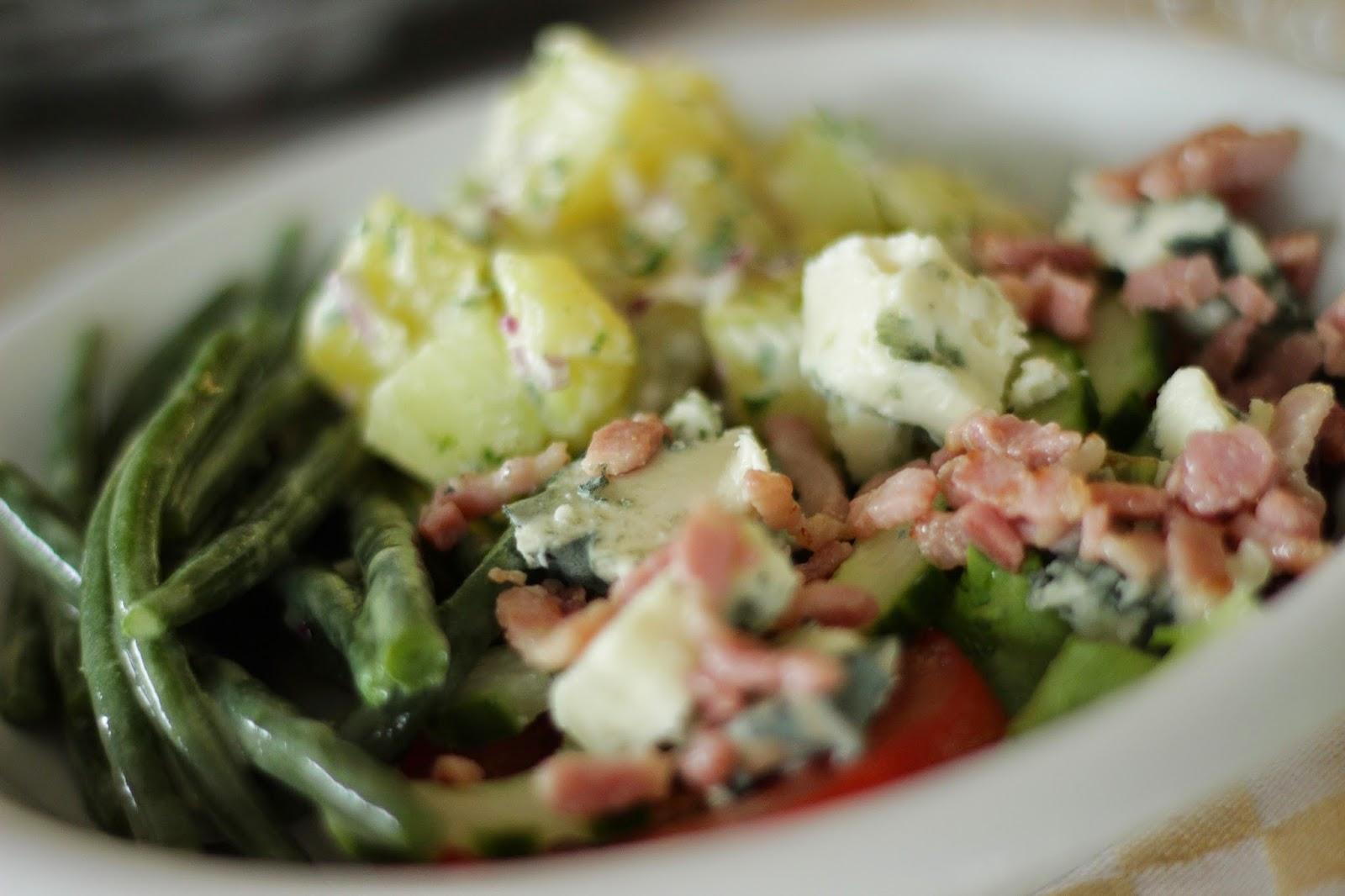 salade met roquefort