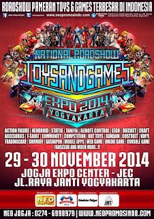 National Roadshow #ToysNGamesExpo 2014 BANDUNG - YOGYAKARTA