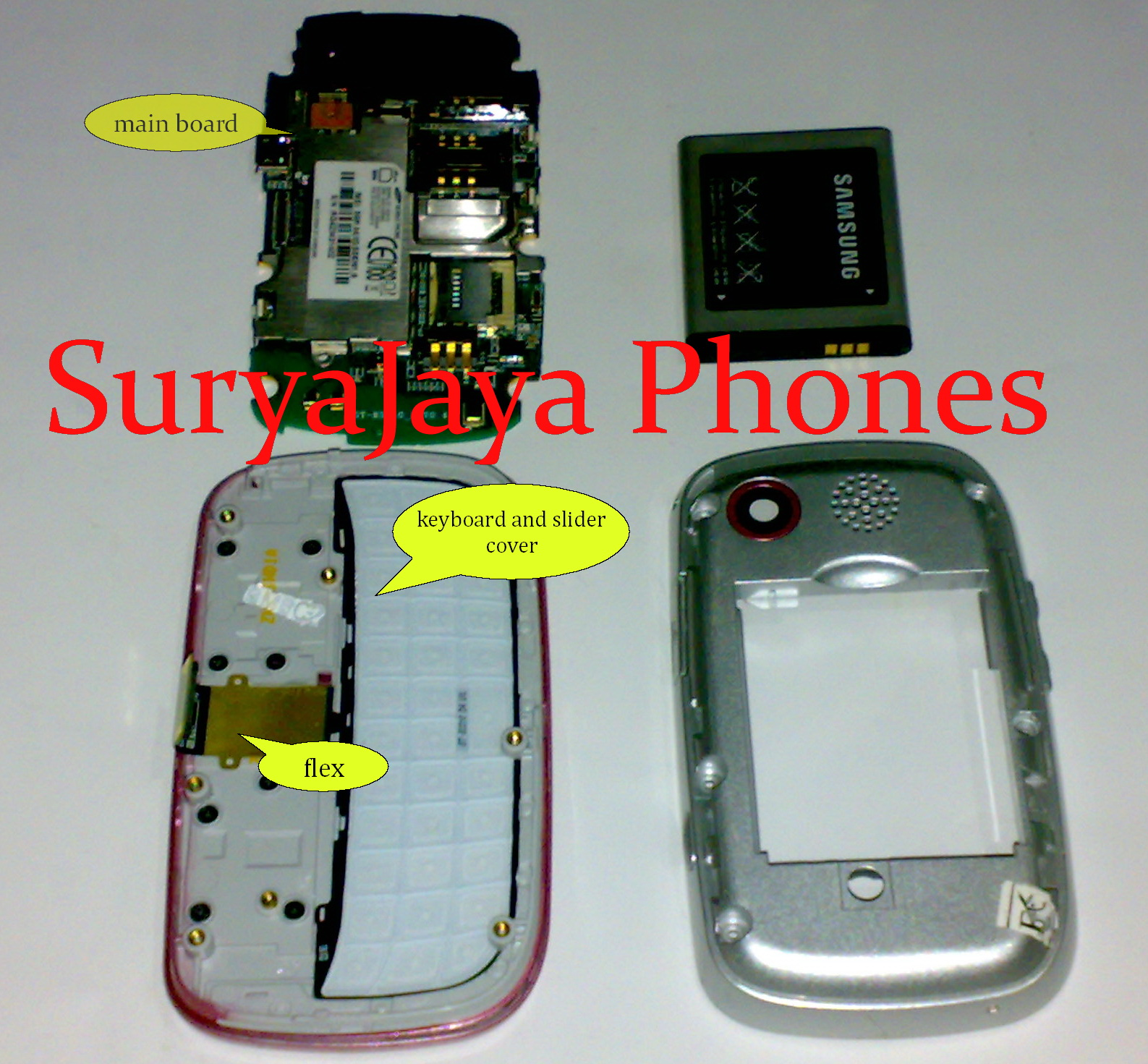 Kkpi Ganti Lcd Dan Fleksibel Samsung Gt B3310