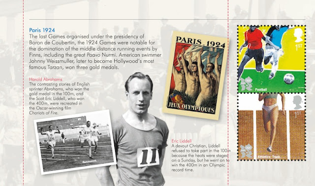 Olympic Prestige Book pane 2 - Paris 1924.