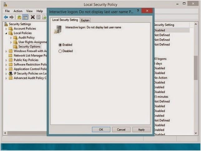 Cara Mengatur Login Windows 8 Menggunakan User Name dan Password