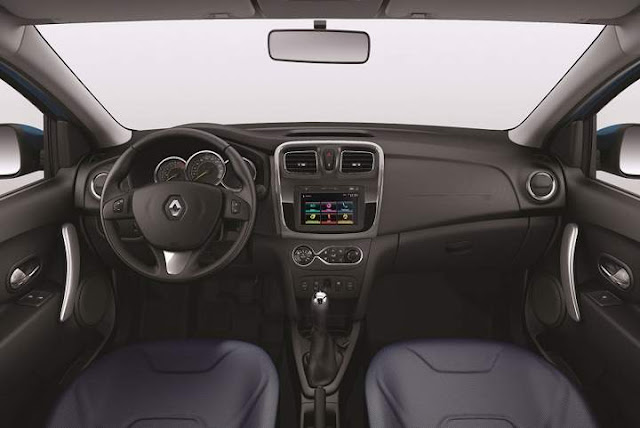 Novo Renault Logan 2016 - interior