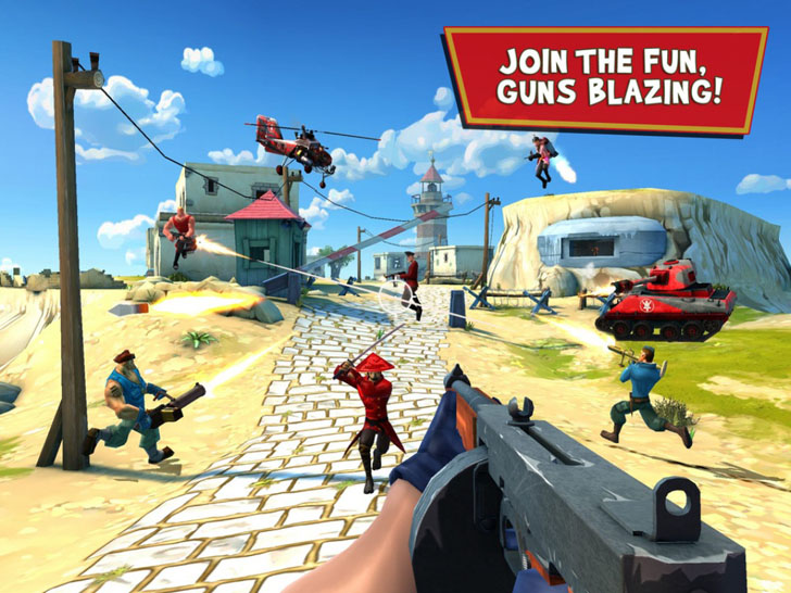 Blitz Brigade - Online multiplayer shooting action! App By Gameloft - FreeApps.ws