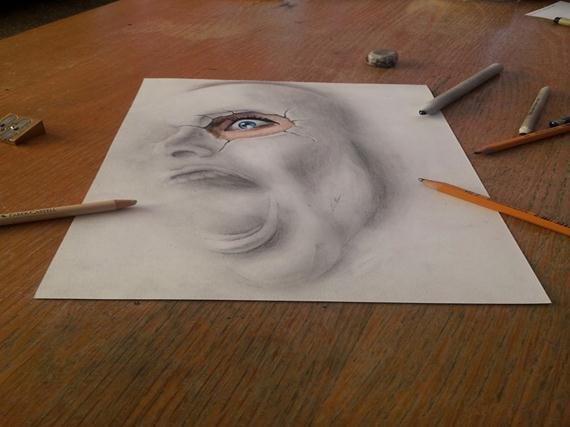 Desenhos em 3D - Ramon Bruin