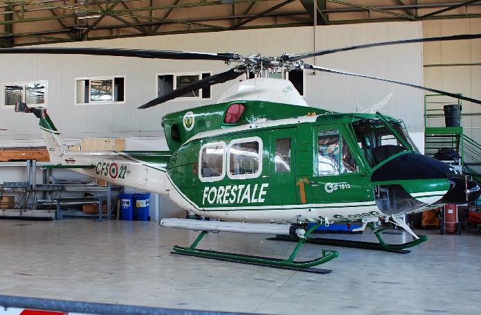 Elicottero 412 : Aviation air routes news corpo forestale precipita un ab