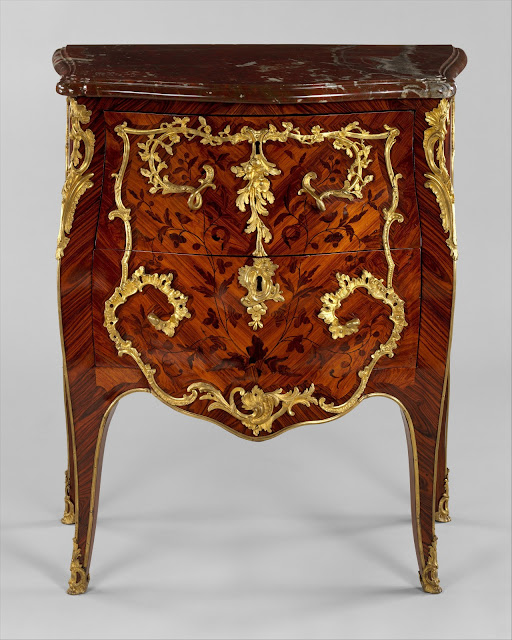 Commode, Roger Vandercruse called Lacroix, ca. 1755–60, The Metropolitan Museum of Art, New York