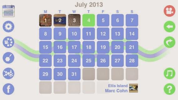 تطبيق مجاني لتسجيل وتوثيق أهم لحظاتك اليومية بالفيديو وتجميعها في فيديو واحد بنهاية الشهر للأيفون Video Journal - The Everyday Video Diary 1.11 iOS
